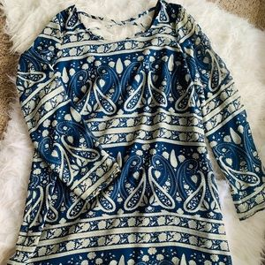 Charming Charlie Paisley Dress